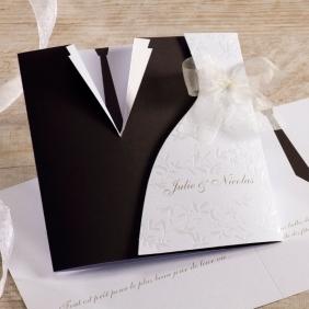Faire-part mariage homme et femme