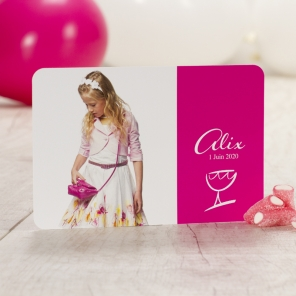 Invitation communion fille