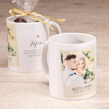 mug personnalise mariage