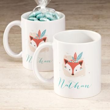 mug naissance renard indien