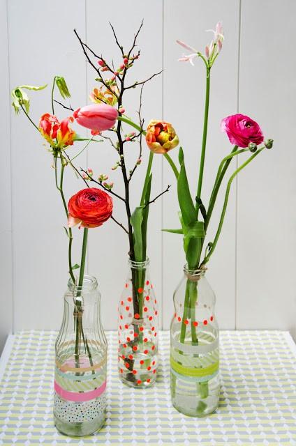 Jolis vases pour bricoler à la maison