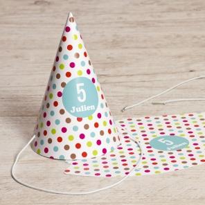 Chapeau confettis