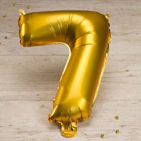 ballon anniversaire chiffre 7