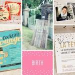 Cartes invitations anniversaires adultes