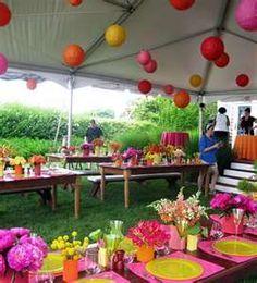 décoration garden-party