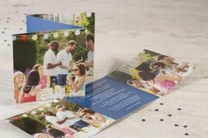 carte d'invitation garden-party