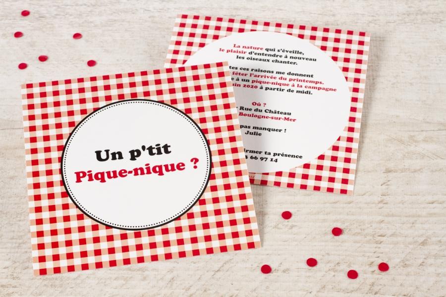 invitation garden party pique-nique