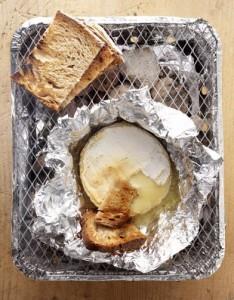 camembert au barbecue