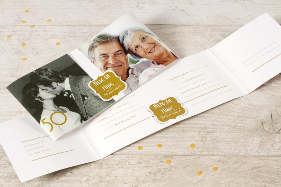 uitnodiging 40 jaar getrouwd huwelijksverjaardag