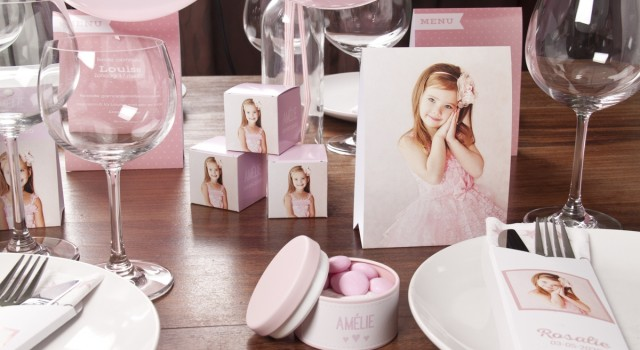 Communion tadaaz blog - Decoration de table pour communion fille ...