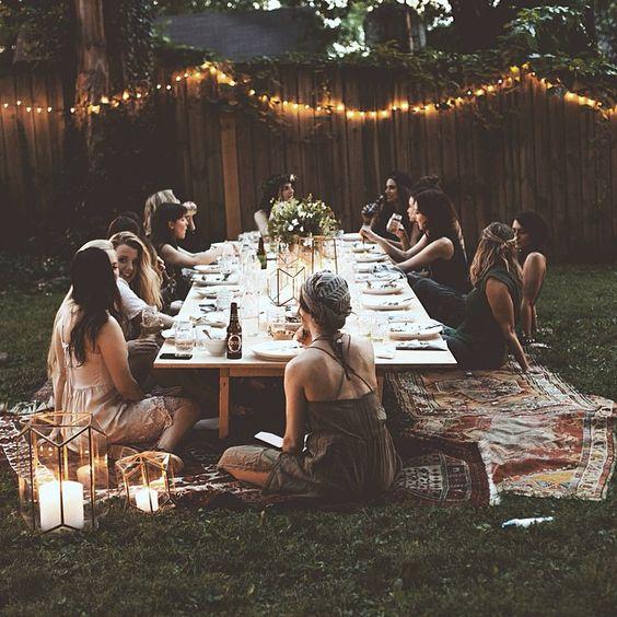 déco table fête de la musique