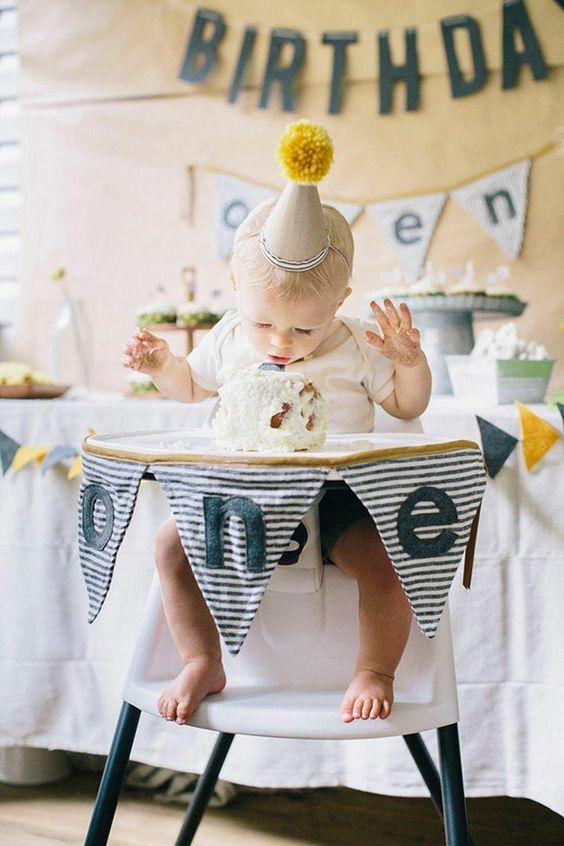 organiser fete anniversaire bebe 1 an