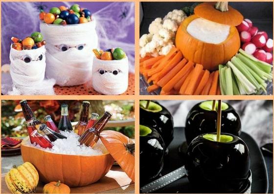 Organiser un repas halloween