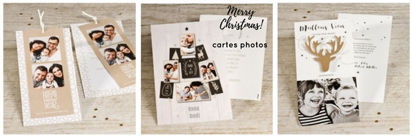 cartes de voeux photo