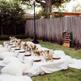 L'été arrive : organisez une garden party sur le thème blanc