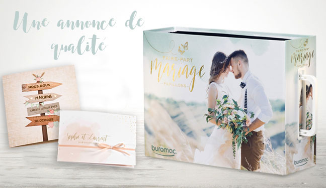 collection mariage buromac