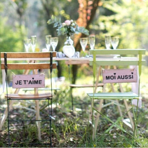 Mariage intime et nature