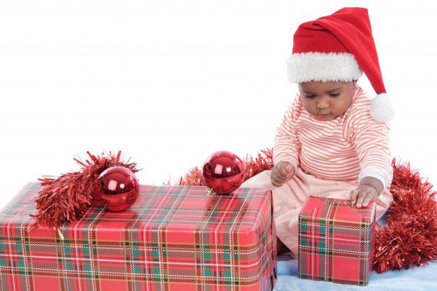 Cadeaux pour premier réveillon de Noël avec bébé