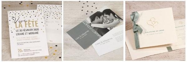 invitations anniversaire de mariage