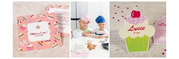 Un atelier anniversaire cuisine pour les petits chefs