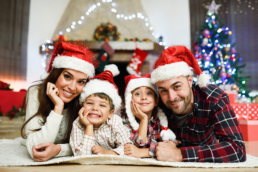 Fêter Noël en famille