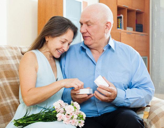 Un petit cadeau pour 40 ans de mariage