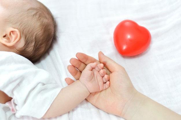 Un retour maternité tout en douceur pour bébé