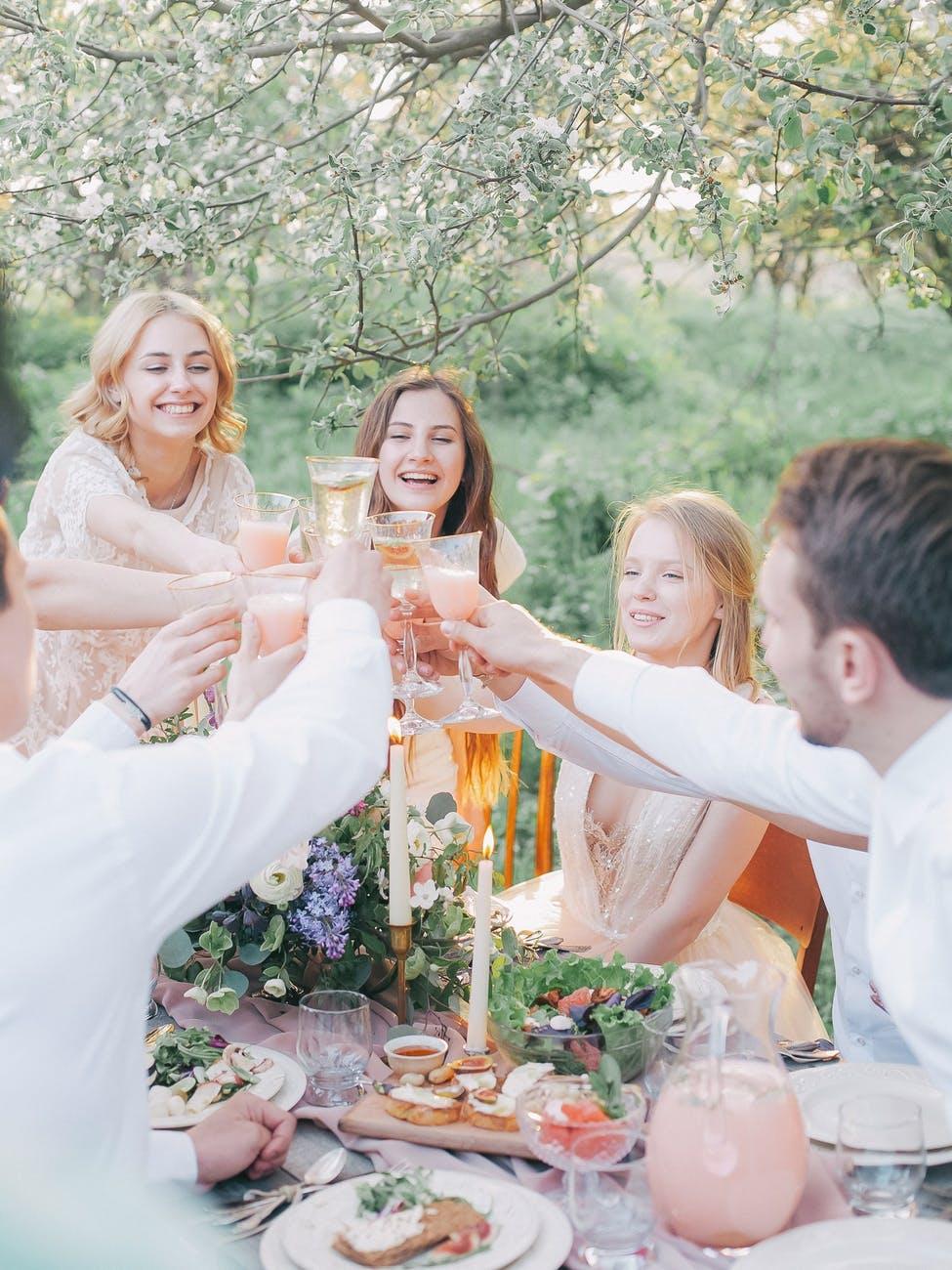 Une garden-party en famille pour fêter le BAC