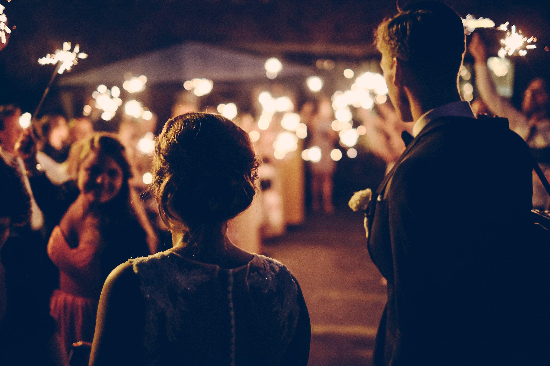 cierge magique mariage