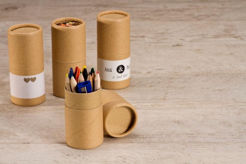 pot à crayons mariage