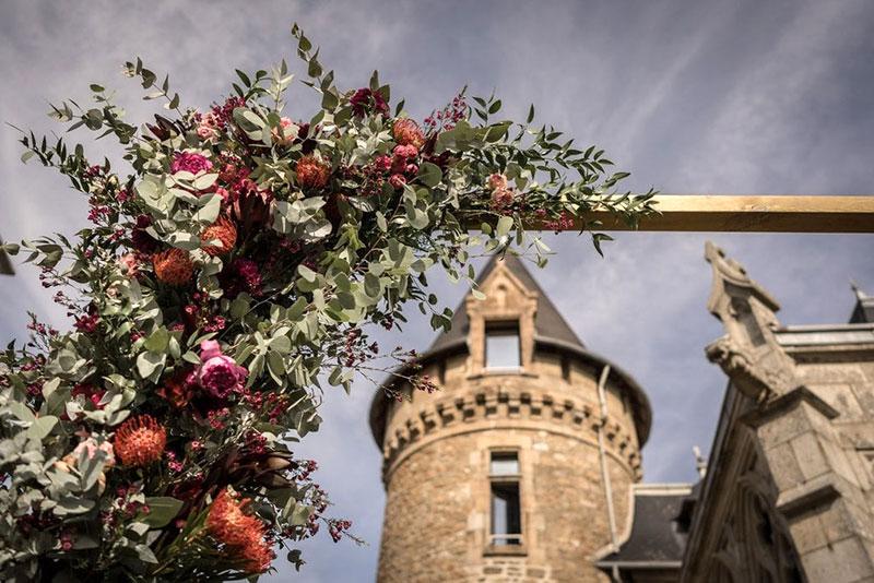 decoration mariage extérieure