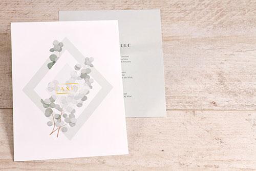 faire part mariage eucalyptus
