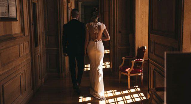 jeunes mariés mairie