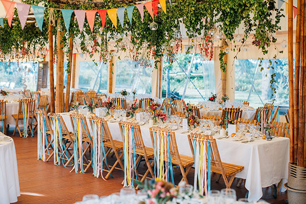 décoration mariage champetre guinguette