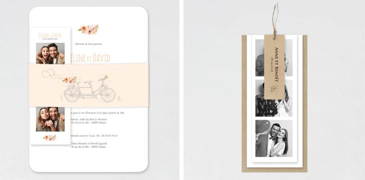invitation mariage format original