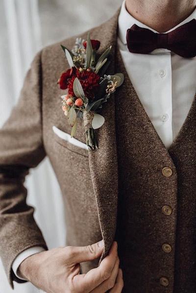 accessoire tenue marié