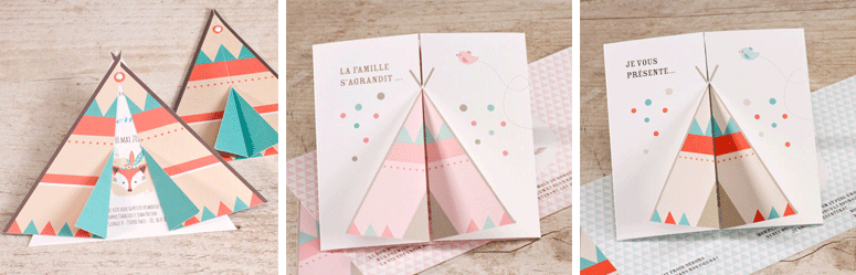 annonce naissance tipi