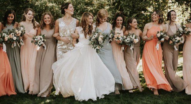 témoins de la mariée