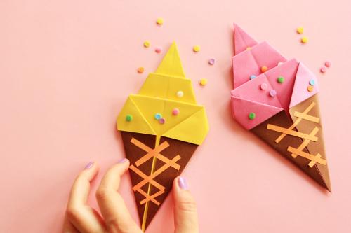 activités manuelle origami