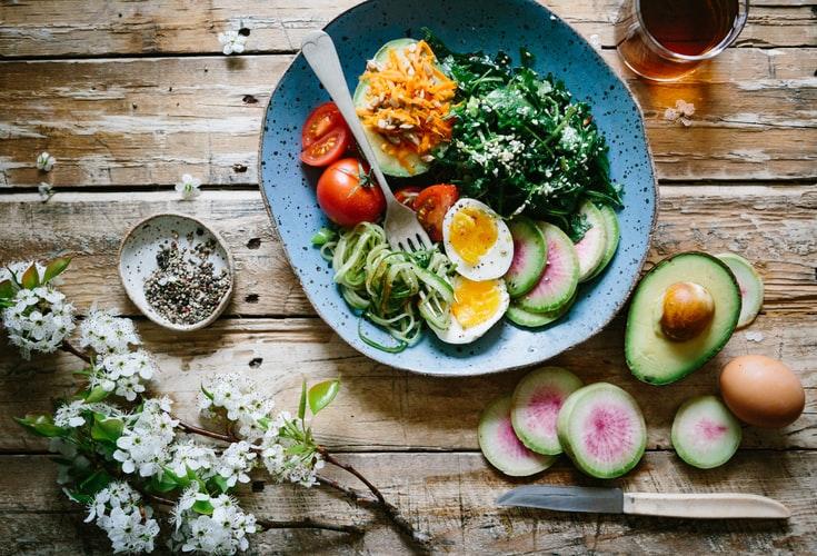 cuisiner des plats équilibrés