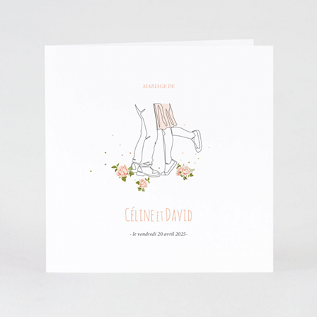 invitation mariage illustrations