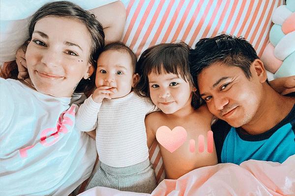 réveil en famille